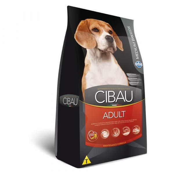 Ração Farmina Cibau Adult Medium Para Cães Adultos de Médio Porte 15 Kg