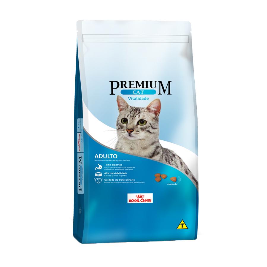 Ração Royal Canin Premium Cat Vitalidade 1 KG