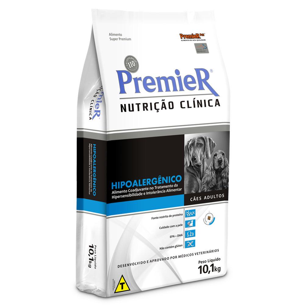 Ração Premier Nutrição Clínica Hipoalergênico para Cães Adultos - 10,1 Kg