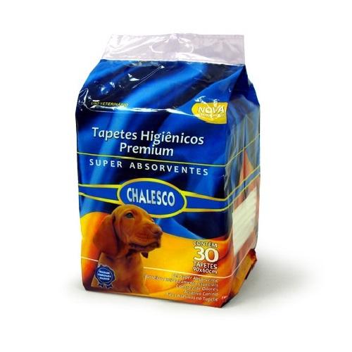 Tapete Higiênico Chalesco Premium para Cães 30 Un