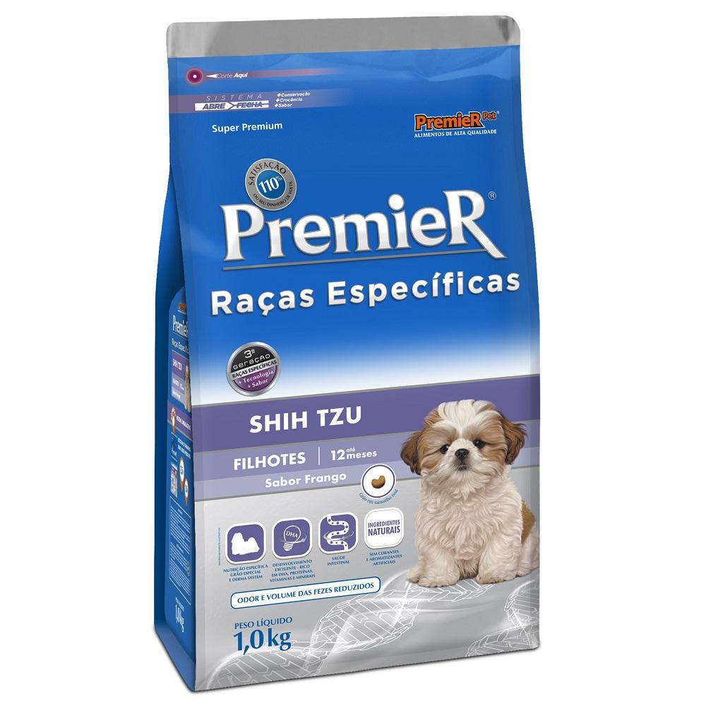 Ração Premier Raças Específicas Shih Tzu Para Cães Filhotes - 1,0 Kg