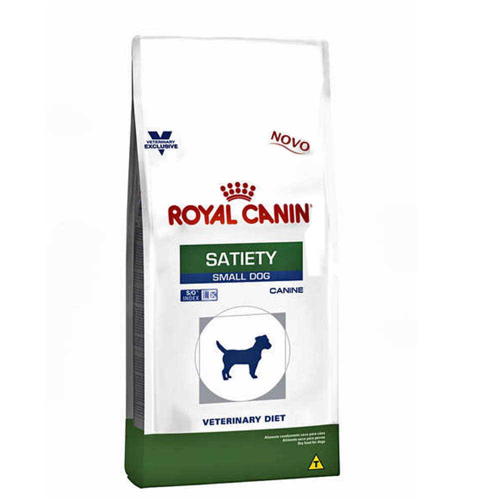Ração Royal Canin Canine Veterinary Diet Satiety Small Dog para Cães de Raças Pequenas 1,5 KG