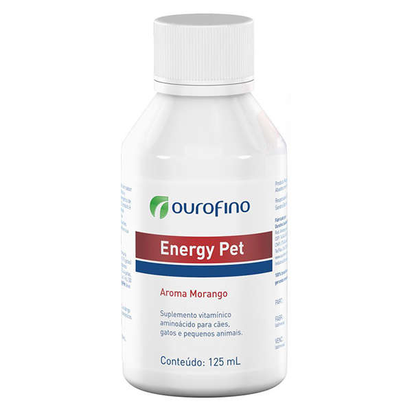 Suplemento Energy Pet 125 ml Ouro Fino