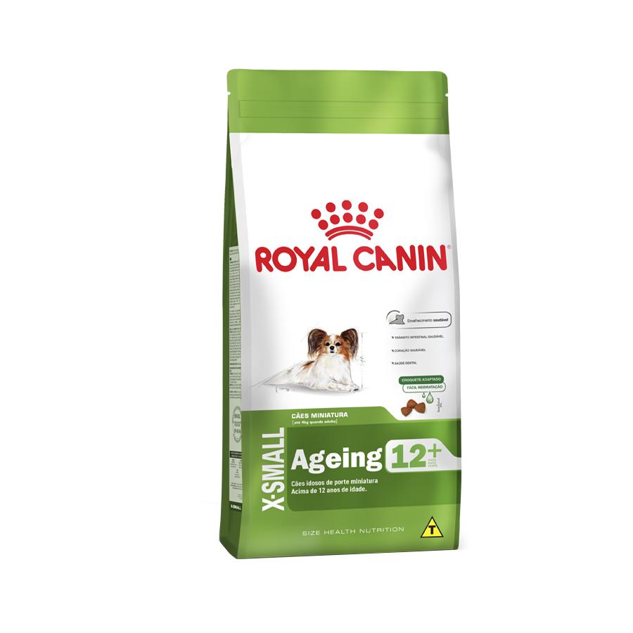 Ração Royal Canin X-Small Ageing 12+ para Cães Adultos e Idosos acima de 12 anos 1 KG