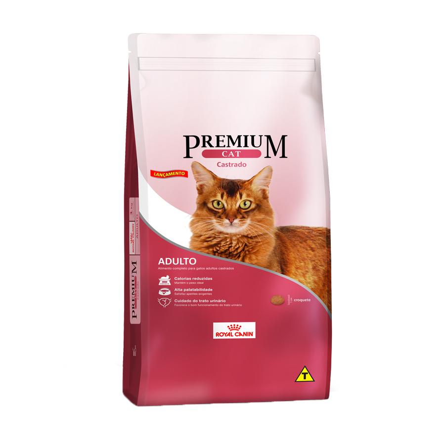Ração Royal Canin Premium Cat Castrado - 1 KG