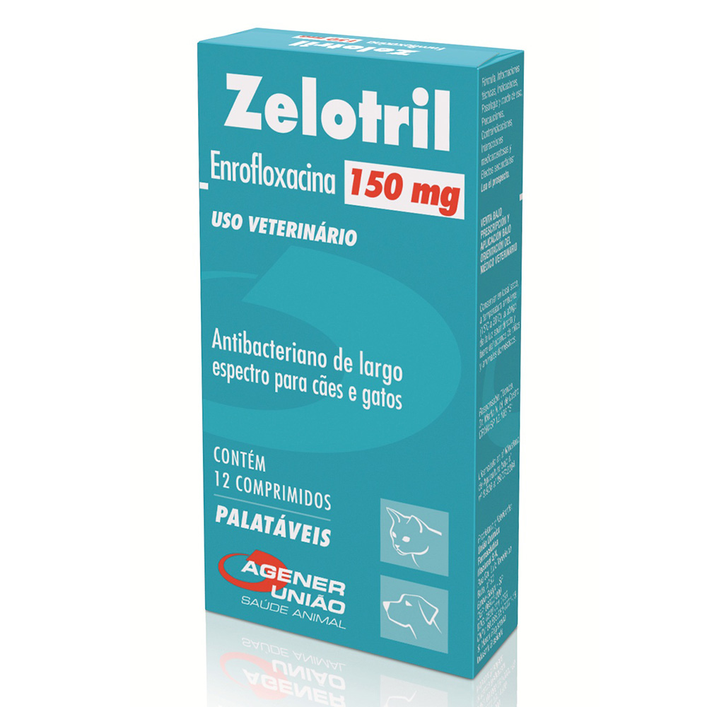 Antibacteriano Zelotril 150 mg - Agener União