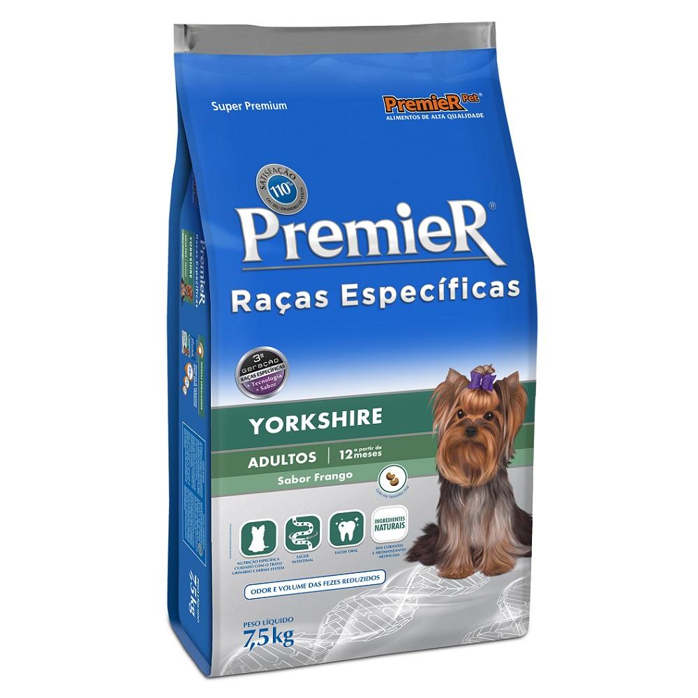 Ração Premier Raças Específicas Yorkshire para Cães Adultos - 7,5 Kg