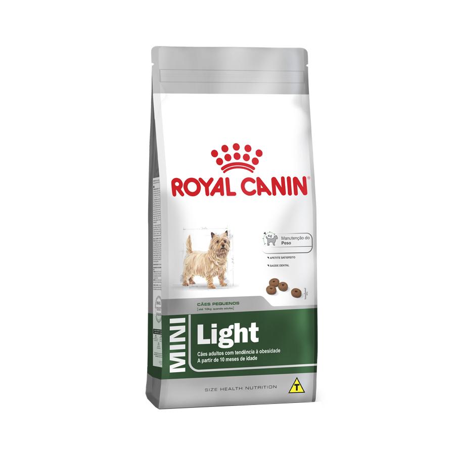 Ração Royal Canin Mini Light 2,5 kg