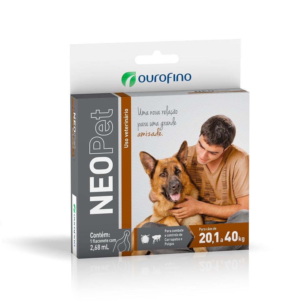 Antipulgas e Carrapatos Neopet 20,1 á 40Kg - Ourofino