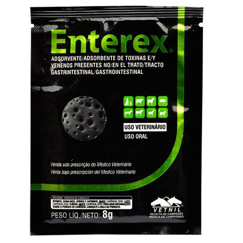 Adsorvente de Toxinas e Venenos Enterex Vetnil - 8g
