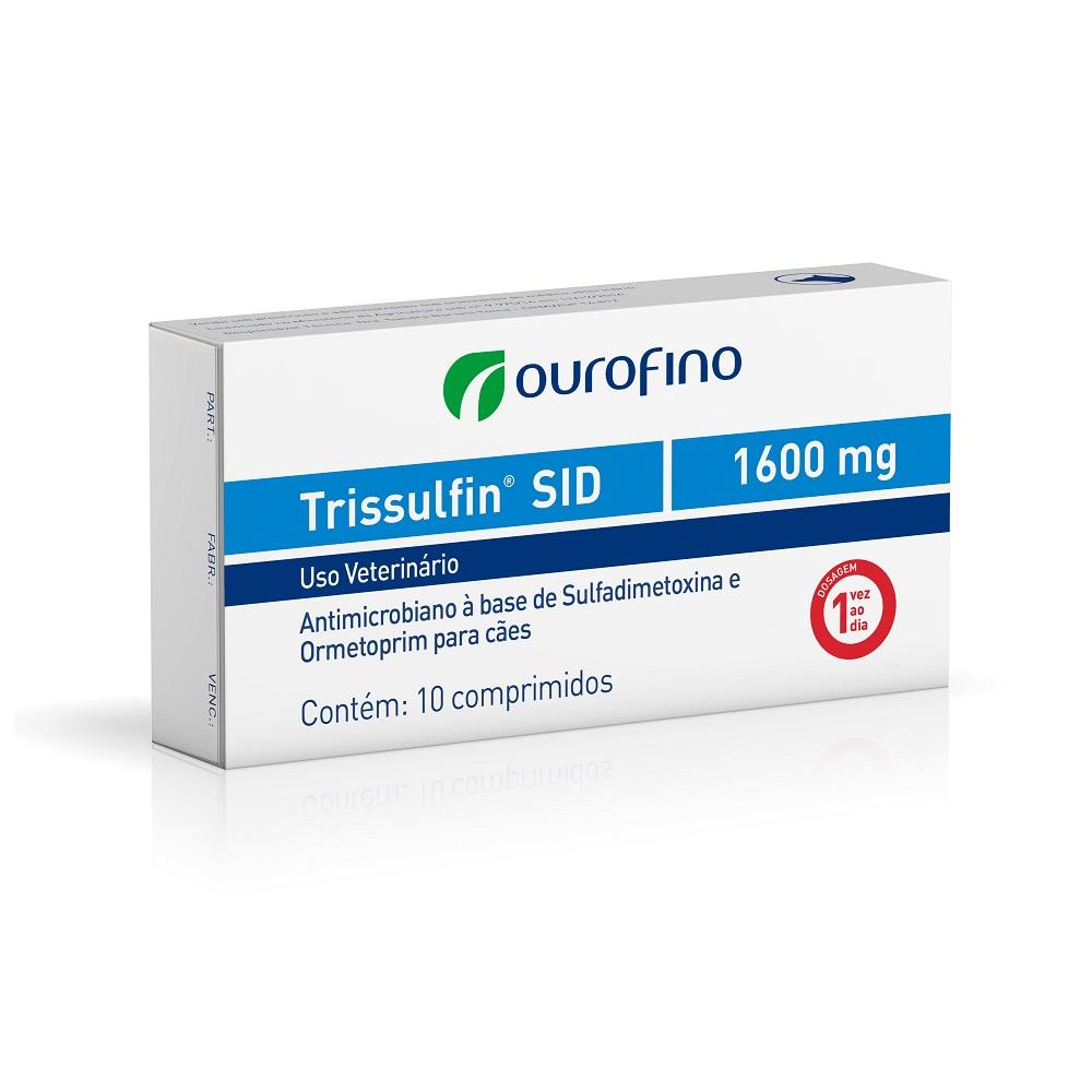 Antibiótico Trissulfin SID 1600 mg - Ourofino