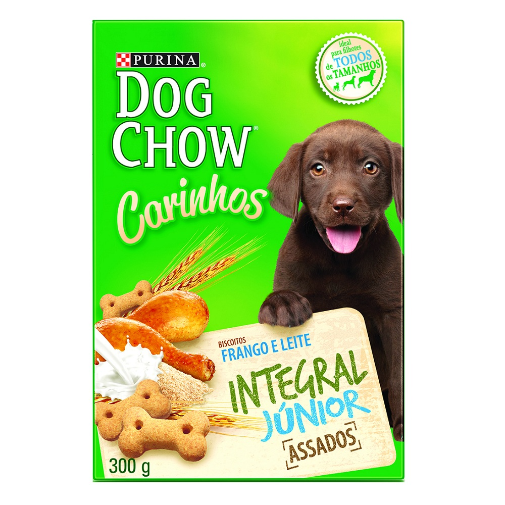 Biscoito Dog Chow Carinhos Integral Junior Purina