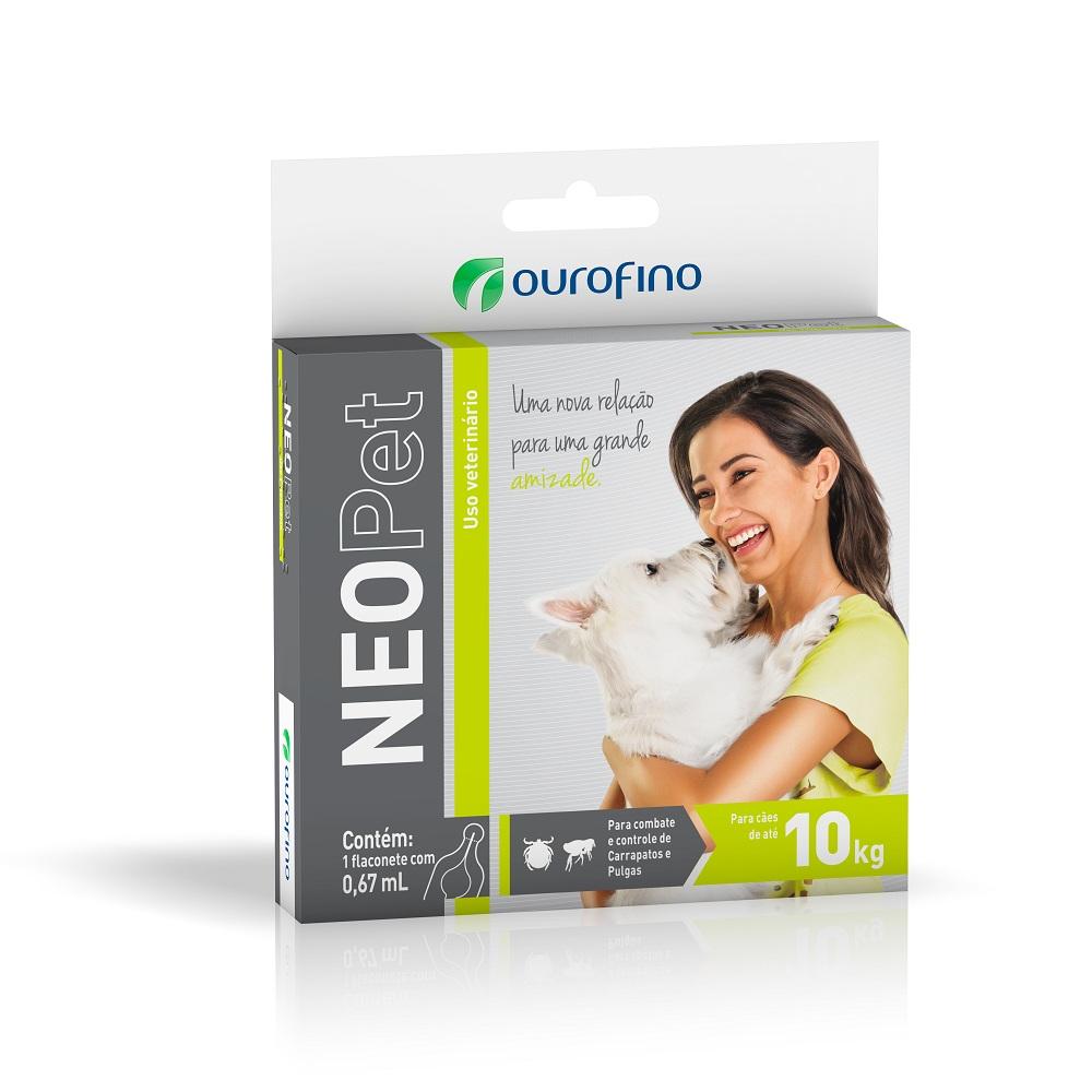 Antipulgas e Carrapatos Neopet 10Kg - Ourofino
