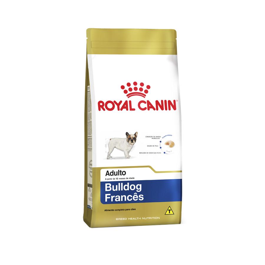 Ração Royal Canin Bulldog Francês Adulto 2,5Kg.