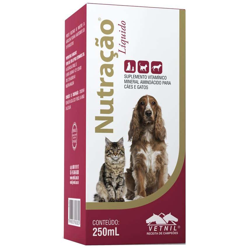 Suplemento Vitamínico Mineral Nutração 250ml - Vetnil