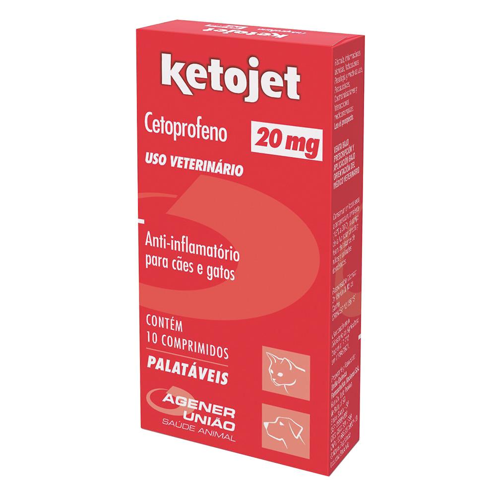 Anti-inflamatório Ketojet 20 mg - Agener União