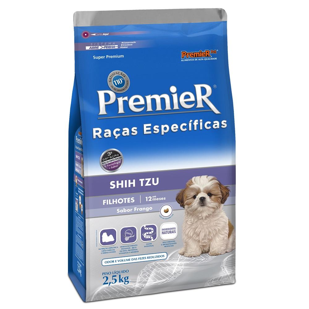 Ração Premier Raças Específicas Shih Tzu Para Cães Filhotes - 2,5 Kg