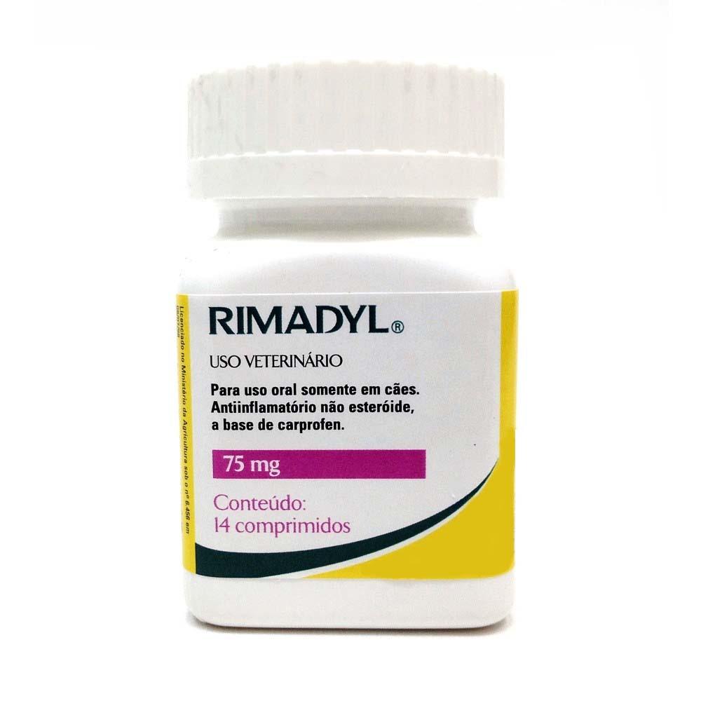 Anti-inflamatório Rimadyl 75 mg - Zoetis