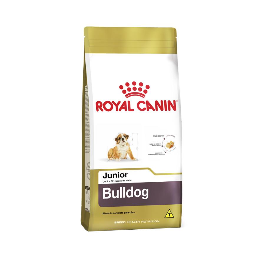 Ração Royal Canin Bulldog Ingles Junior 12Kg