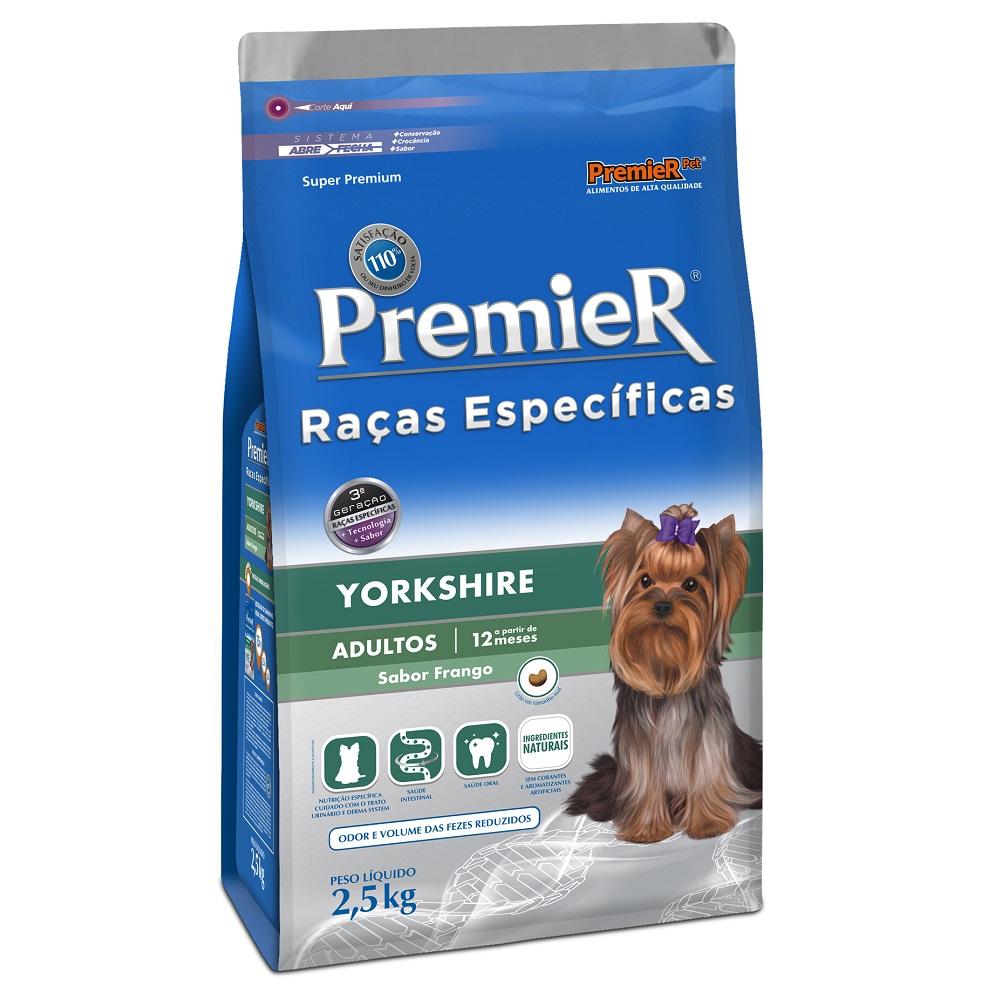 Ração Premier Raças Específicas Yorkshire para Cães Adultos - 2,5 Kg