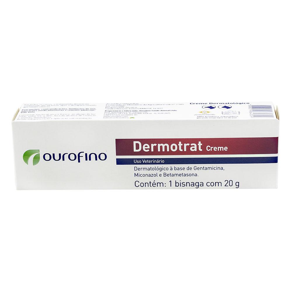 Anti-inflamatório Dermotrat Creme 20 g - Ourofino