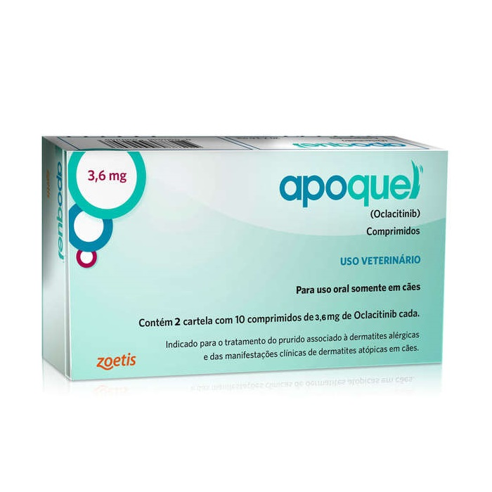 Apoquel 3,6 mg (Oclacitinib) - Zoetis