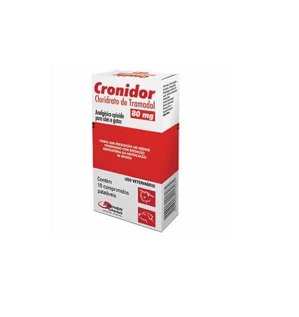 Analgésico Cronidor 80 mg - Agener União