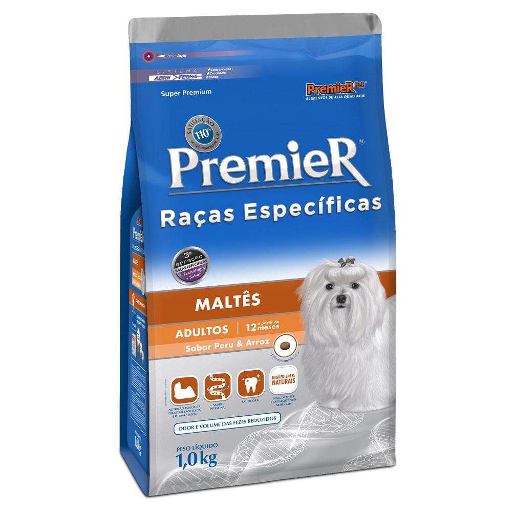 Ração Premier Raças Específicas Maltês para Cães Adultos - 1,0 Kg