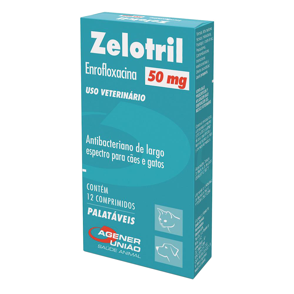 Antibacteriano Zelotril 50 mg - Agener União