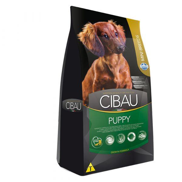 Ração Farmina Cibau Puppy Mini Para Cães Filhotes de Pequeno Porte 1 kg