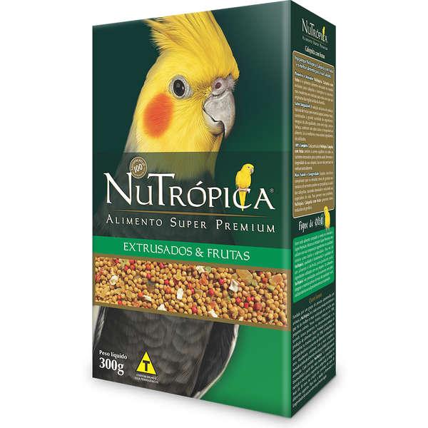Ração NuTrópica Com Frutas Para Calopsita 300 g