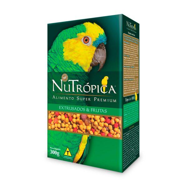 Ração NuTrópica Com Frutas Para Papagaio 300 g