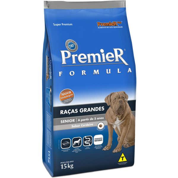 Ração Premier Fómula Senior Para Cães Adultos Raças Grandes Senior 15Kg