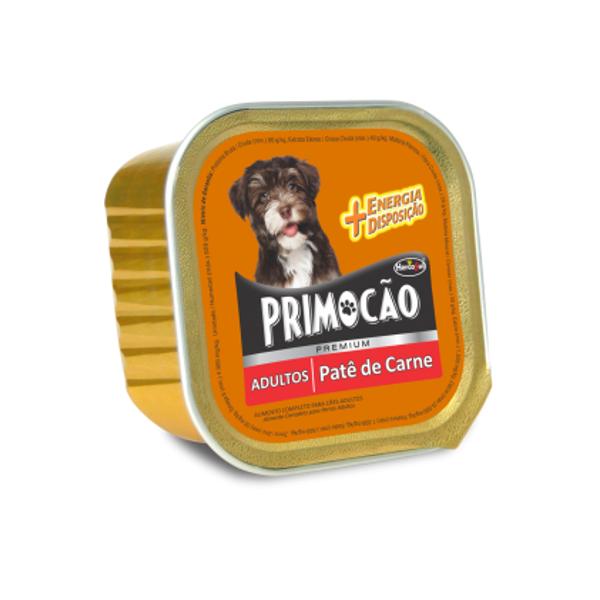 Patê Primocão Para Cães Adultos Carne 300 g.