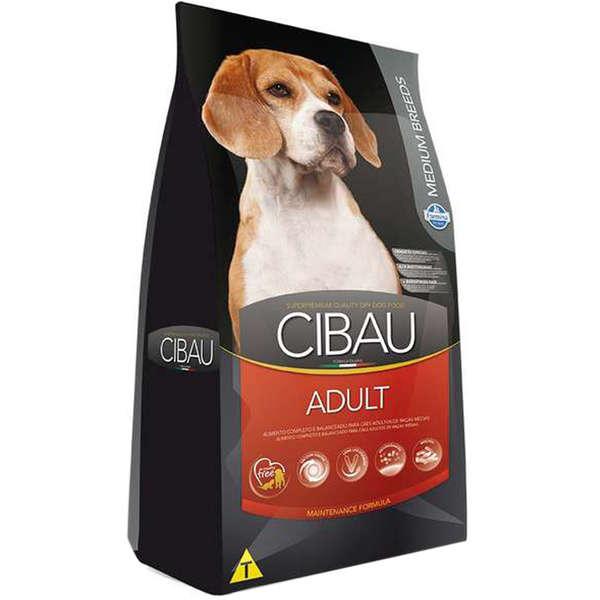 Ração Farmina Cibau Adult Medium Para Cães Adultos de Médio Porte 25 Kg