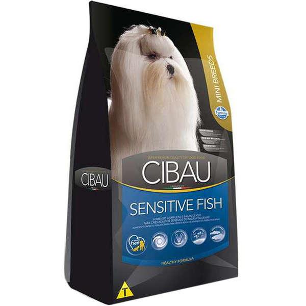 Ração Farmina Cibau Sensitive Fish para Cães Adultos de Raças Pequenas 1kg