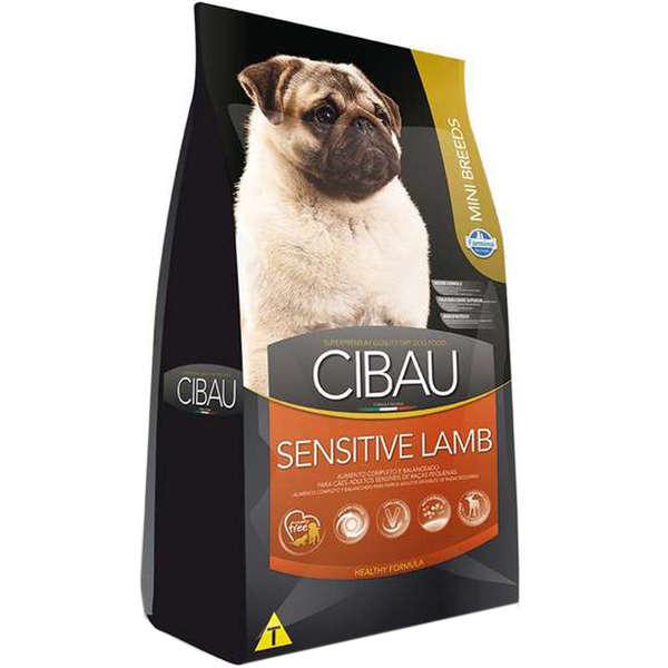 Ração Farmina Cibau Sensitive Lamb para Cães Adultos Sensíveis de Raças Pequenas 3kg