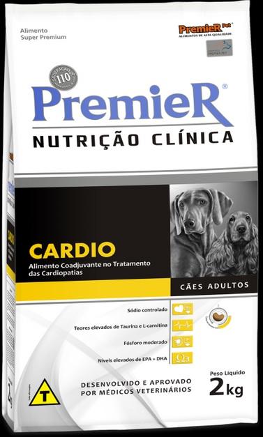 Ração Premier Nutrição Clínica Cardio para Cães Adultos - 2,0 Kg