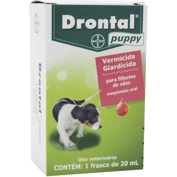 Vermífugo Drontal Puppy 20 ml - Bayer