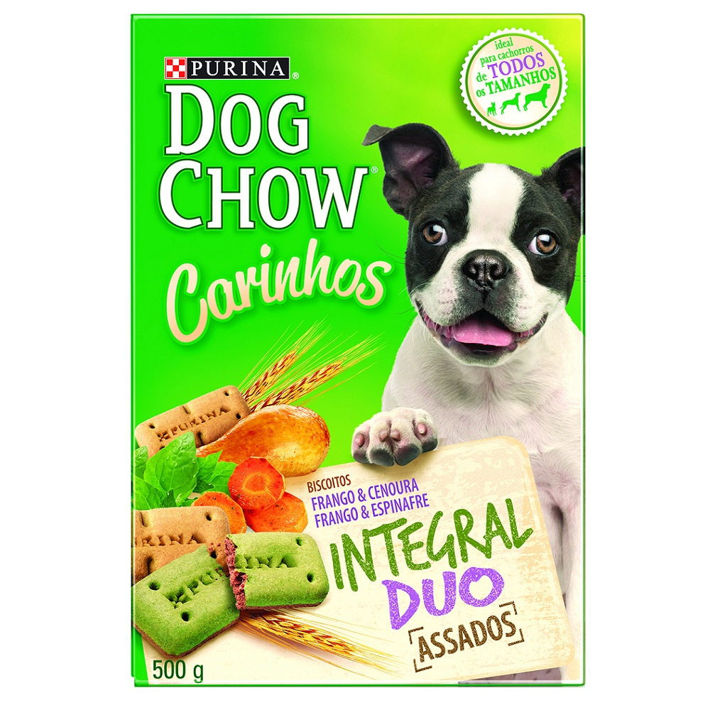 Biscoito Dog Chow Carinhos Integral Duo Purina