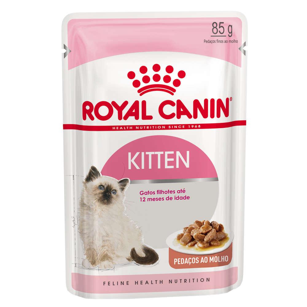 Ração Royal Canin Sachê Feline Instinctive 85g