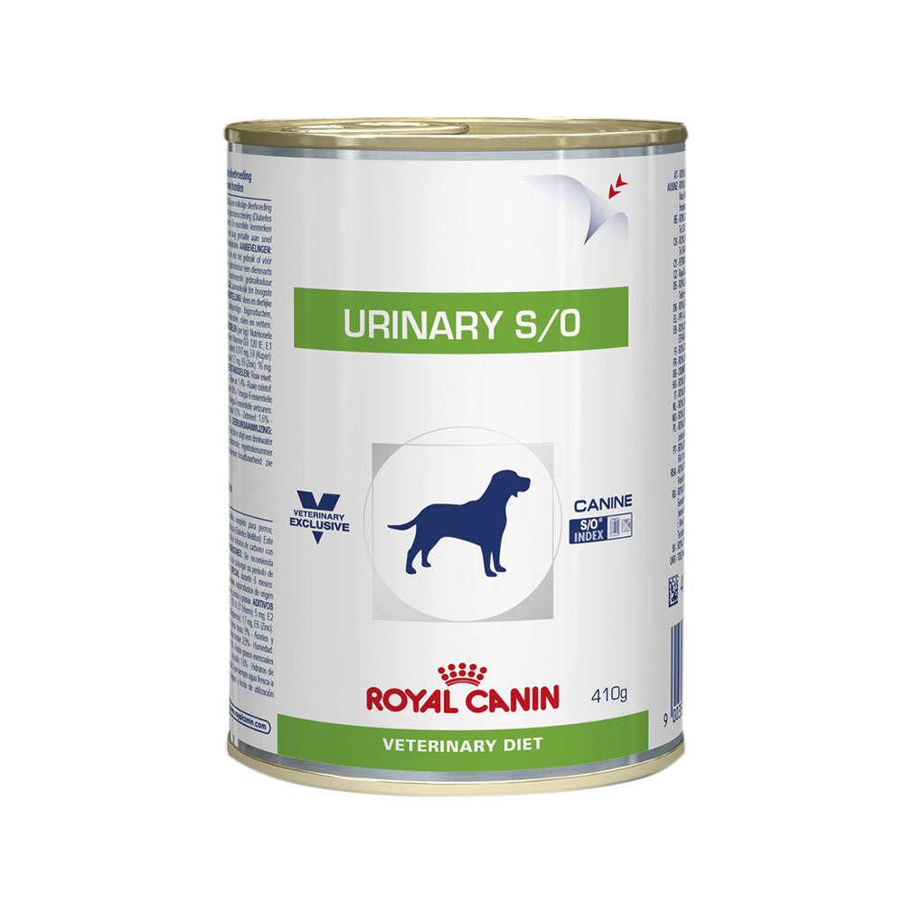 Ração Úmida Royal Canin Lata Canine Veterinary Diet Urinary S/O Para Cães 420g