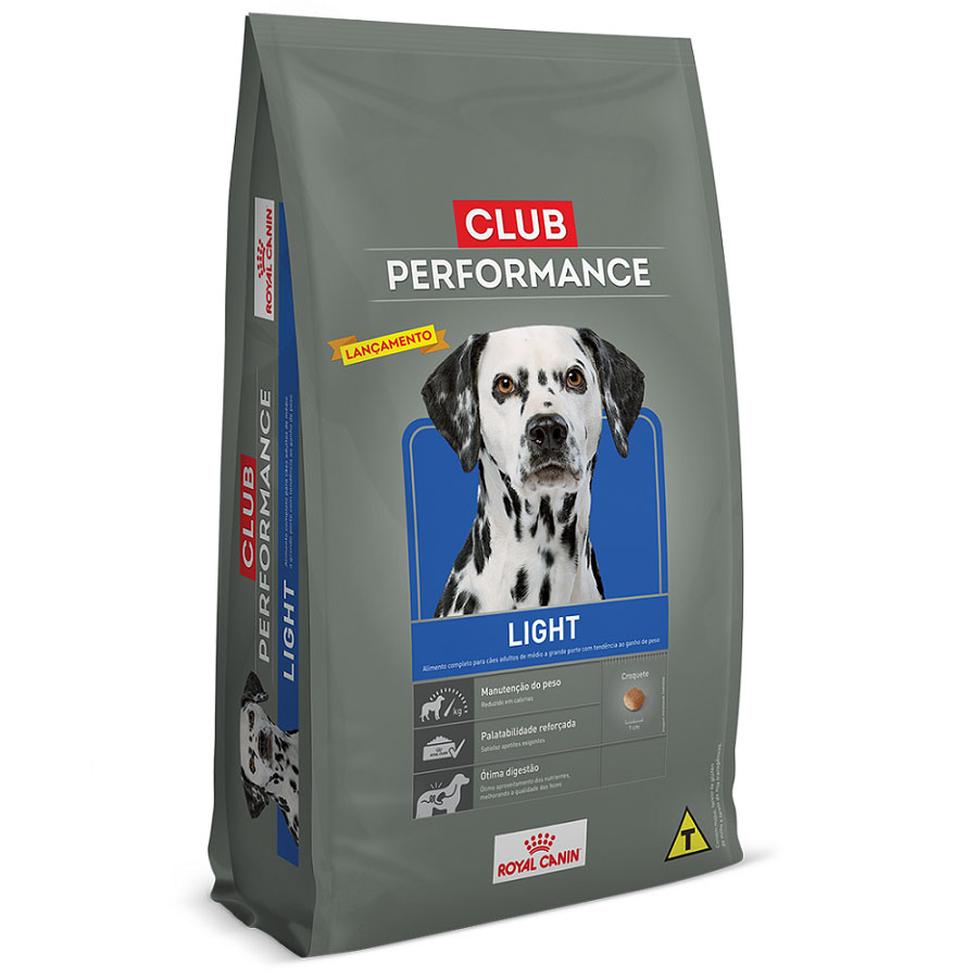 Ração Royal Canin Club Performance Light