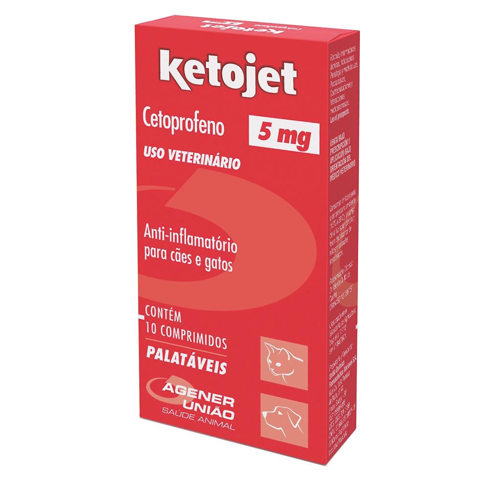 Anti-inflamatório Ketojet 5 mg - Agener União