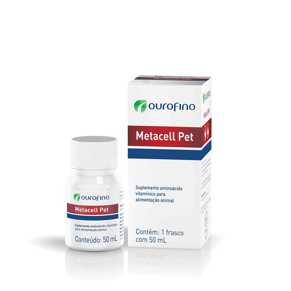 Suplemento Metacell Pet 50 ml Ourofino