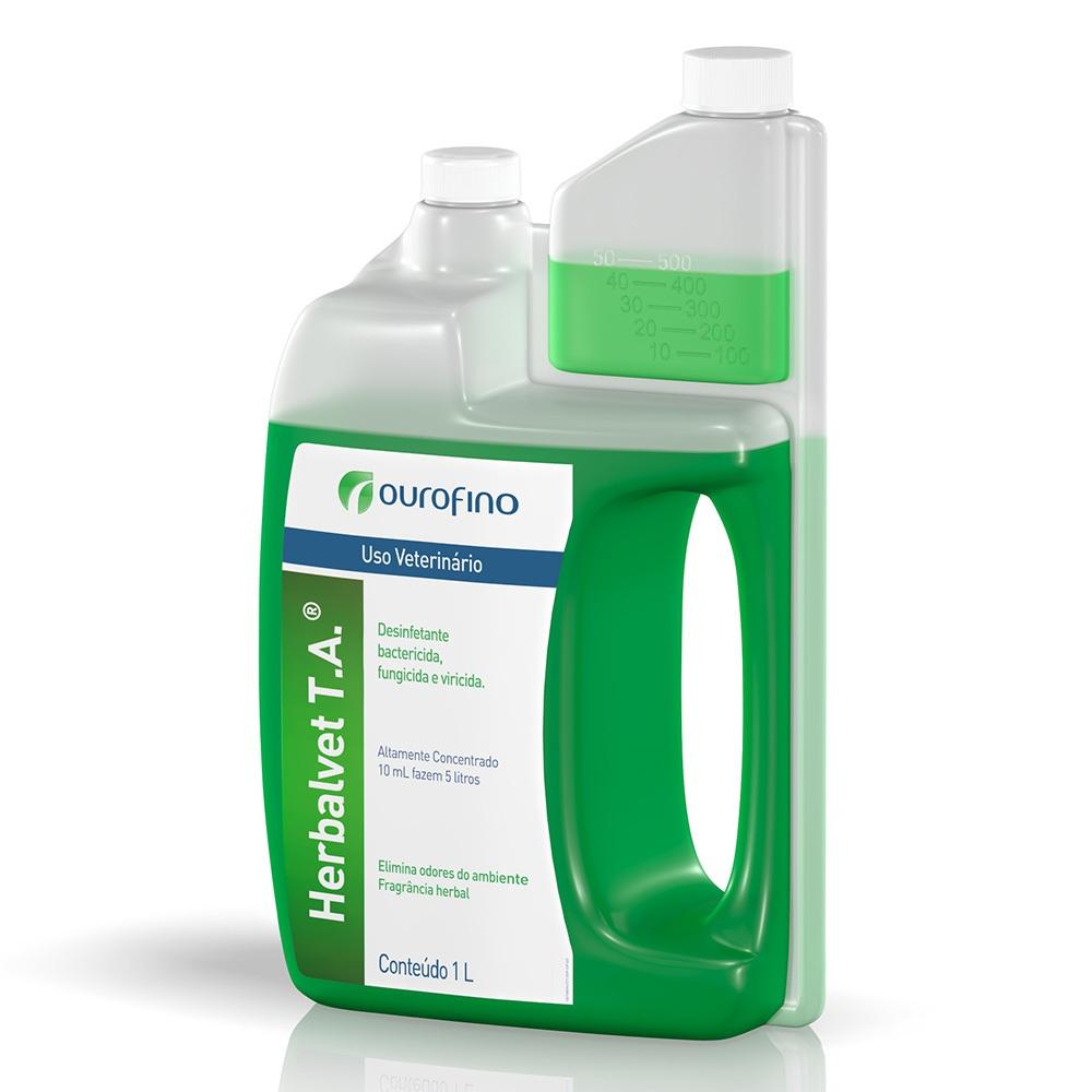 Desinfetante Bactericida Herbalvet T.A 1 L Ourofino