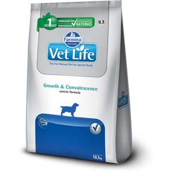 Ração Farmina Vet Life Growth e Covalescence para Cães Adultos 10 Kg