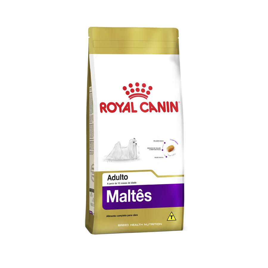 Ração Royal Canin para Cães Adultos da Raça Maltês 2,5 KG