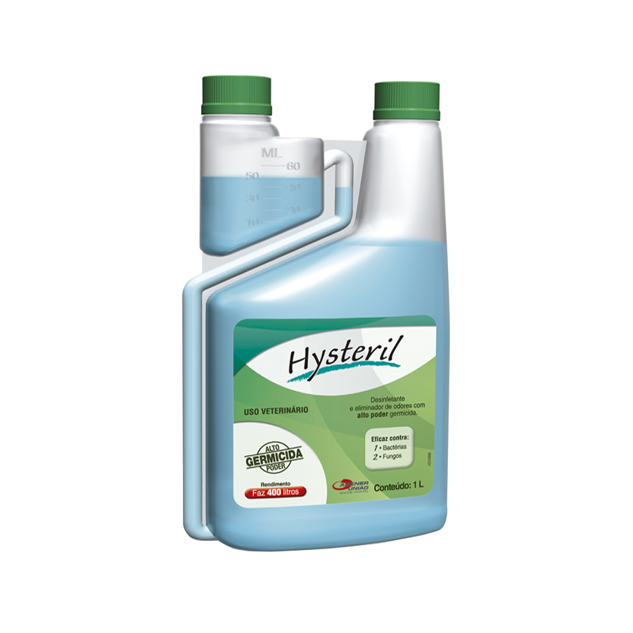 Desinfetante Hysteril 1L - Agener União
