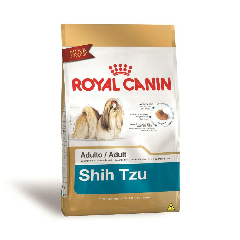 Ração Royal Canin para Cães Adultos da Raça Shih Tzu 7,5 KG